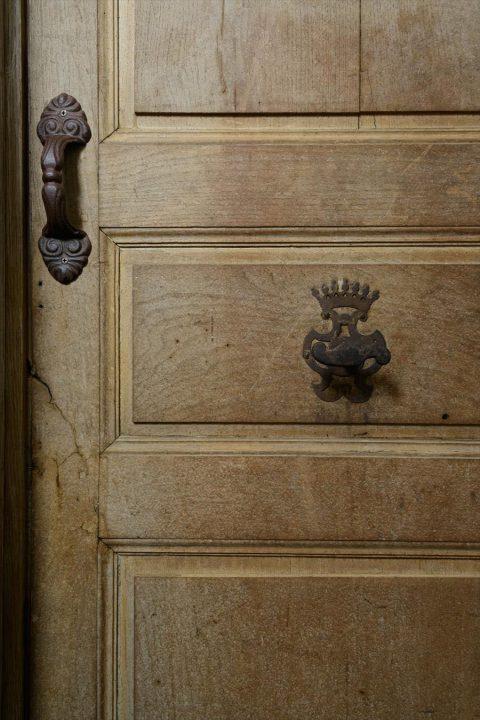 トイレのアンティークドア