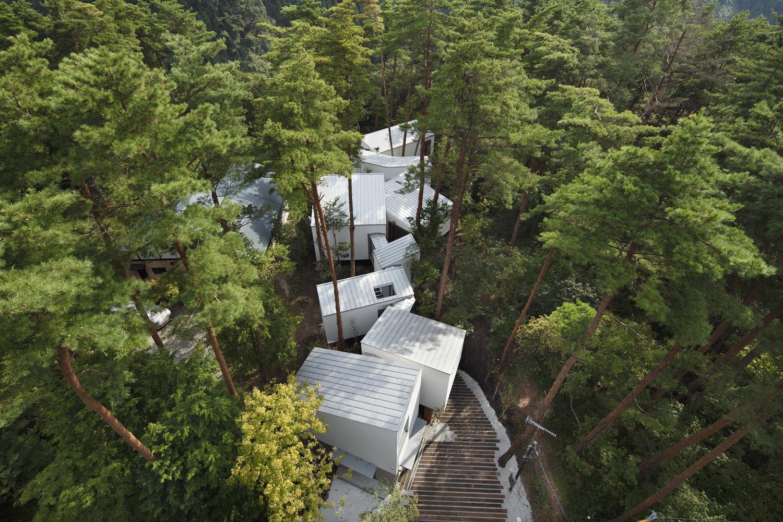 大山の自然を楽しむ別荘