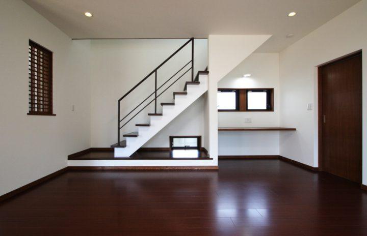 かっこいいリビング階段