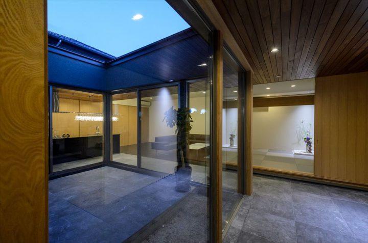 岡山市に完成したゼロエネルギー住宅の完成写真