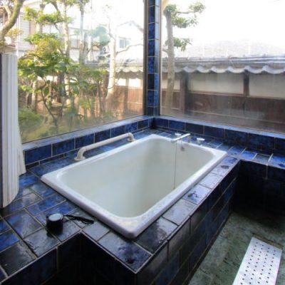 岡山市北区の住宅リノベーションの工事前浴室写真