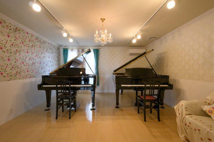 ピアノ教室仕様の防音室