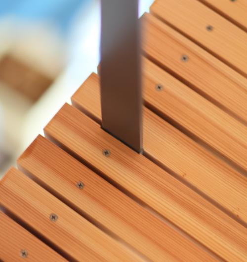 大工さんの腕が光る、細かい技の効いた木工事