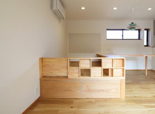 2世帯住宅のリノベーション工事、