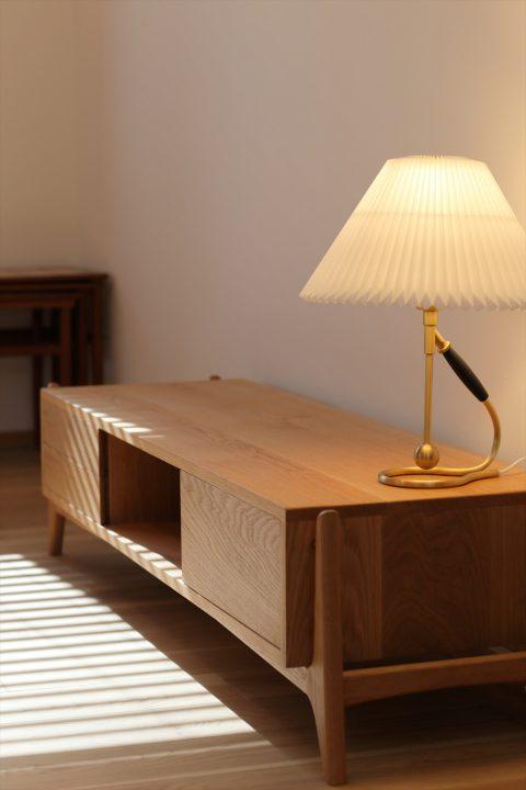 家具屋照明などもコーディネートさせていただきました