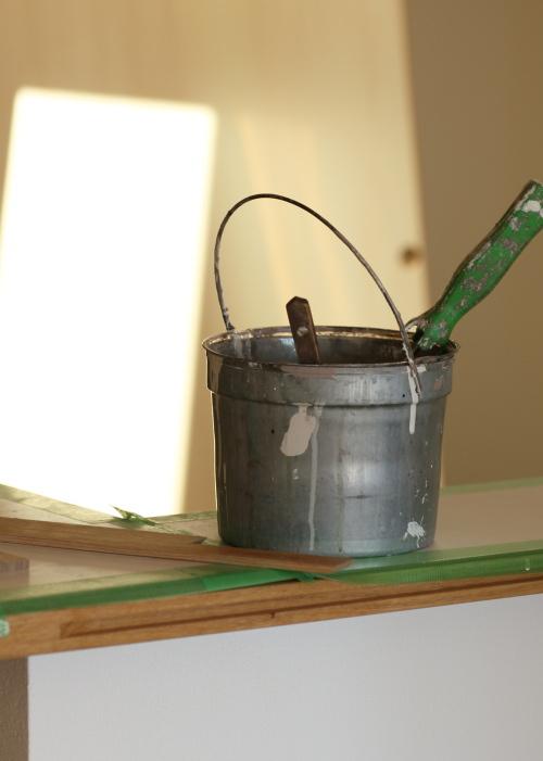 塗装職人さんの道具