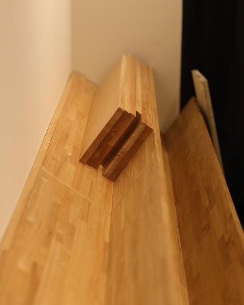 珈琲豆を置く専用の家具を作りました