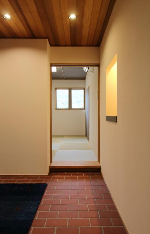 玄関から入れる和室の入り口